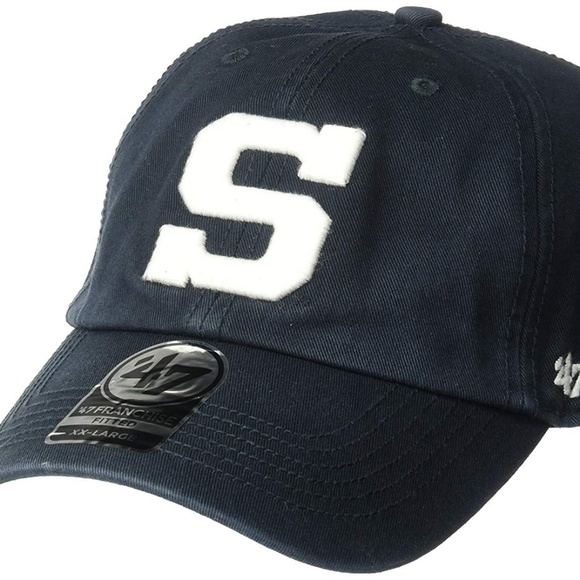 47cf498a College Vault Accessories | Penn State Nittany Lions Fitted Hat Navy ...